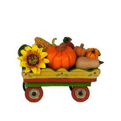 Harvest festival train car