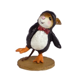 Mouse in Penguin costume